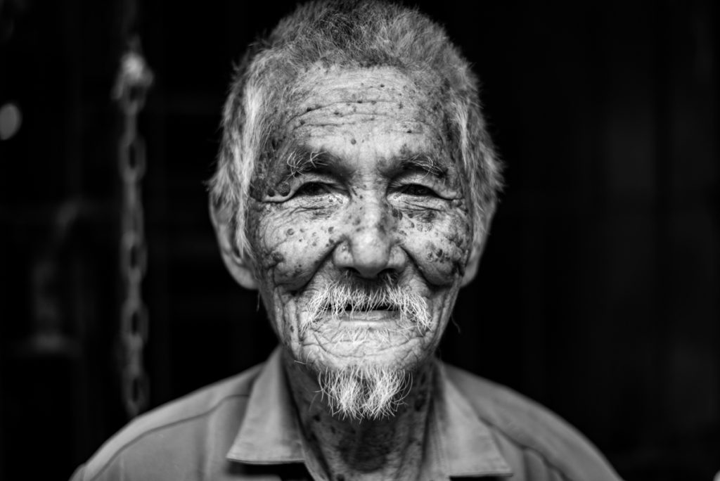 Elder man Myanmar