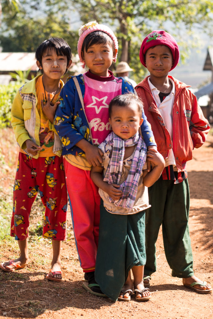 Myanmar children
