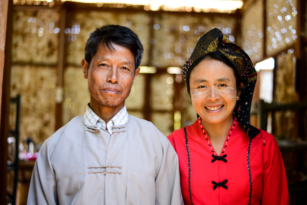 Myanmar couple