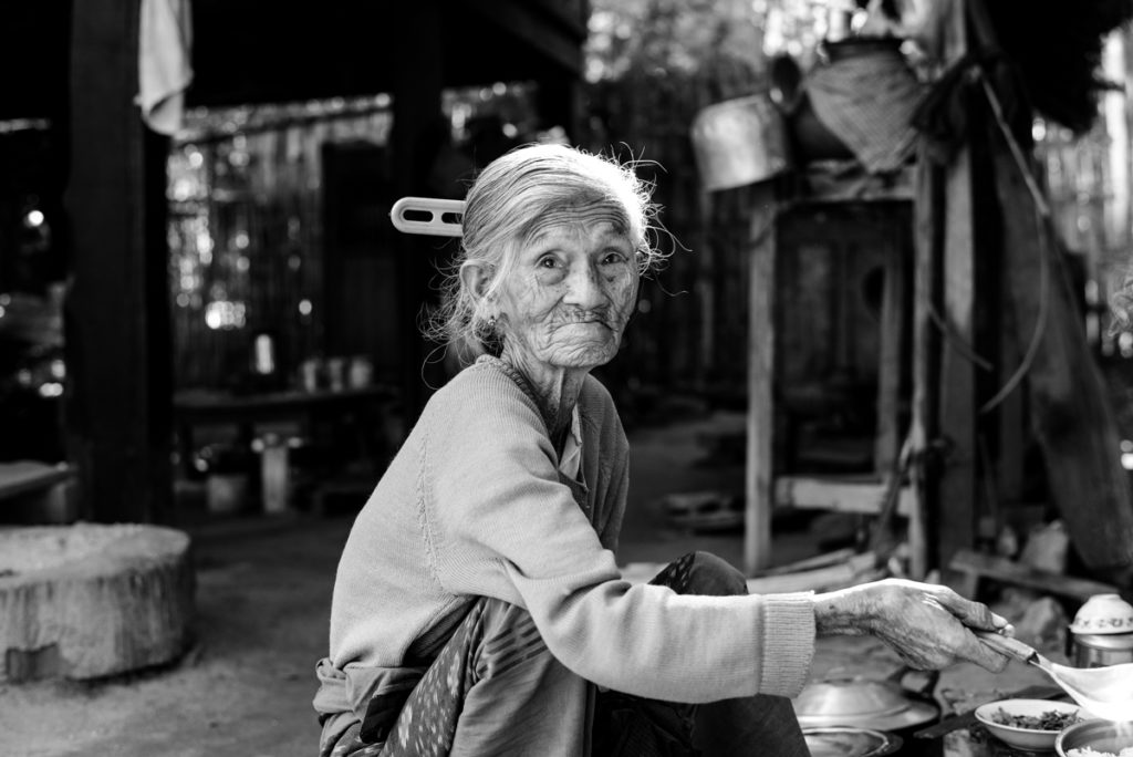 Elder woman Mandalay