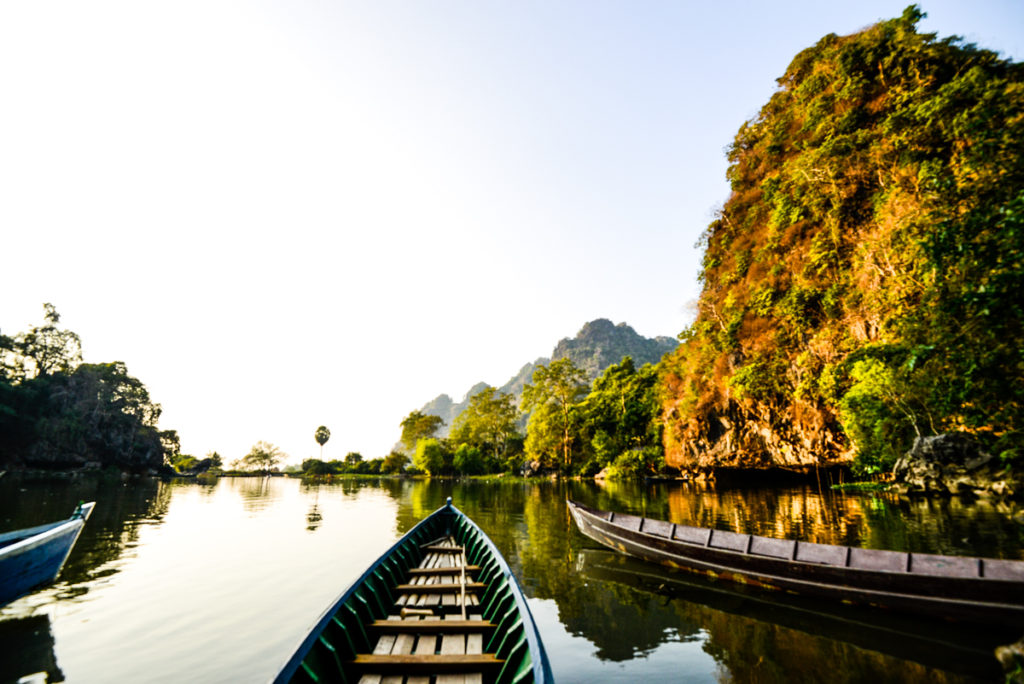 Hpa-An cave