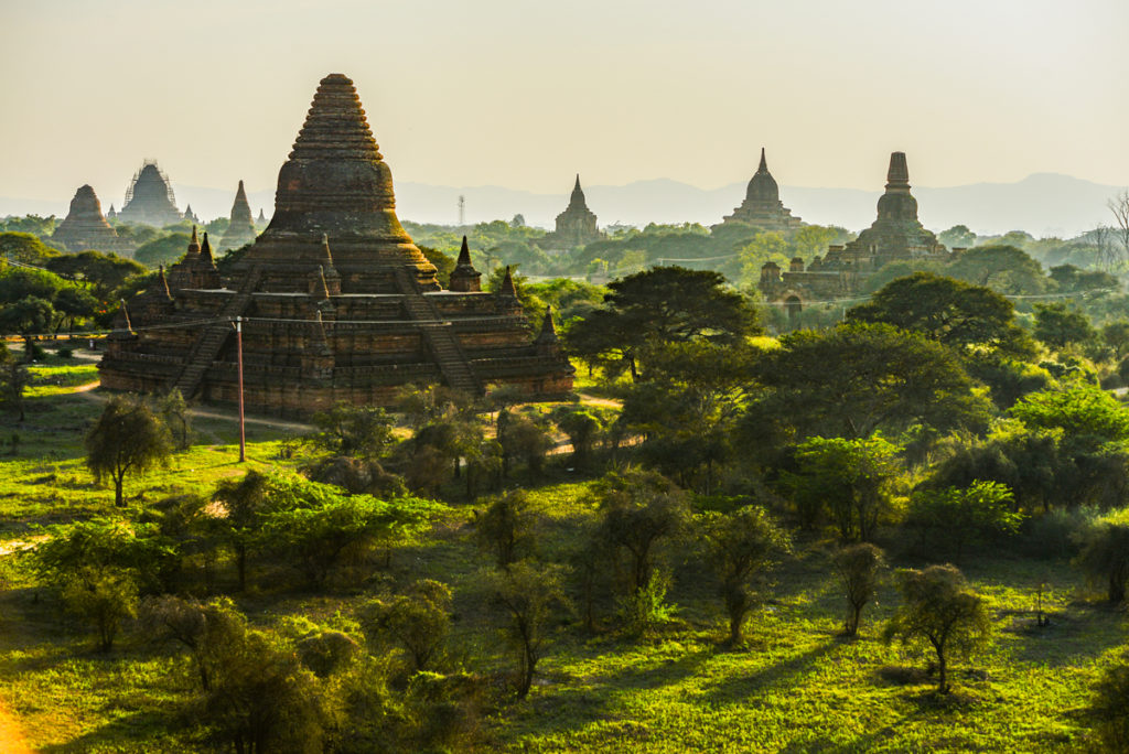 Myanmar bagan travel