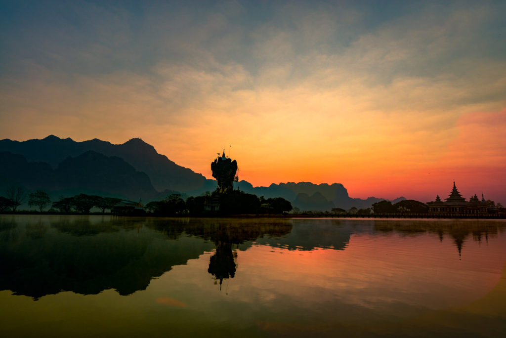 Hpa-An sunrise
